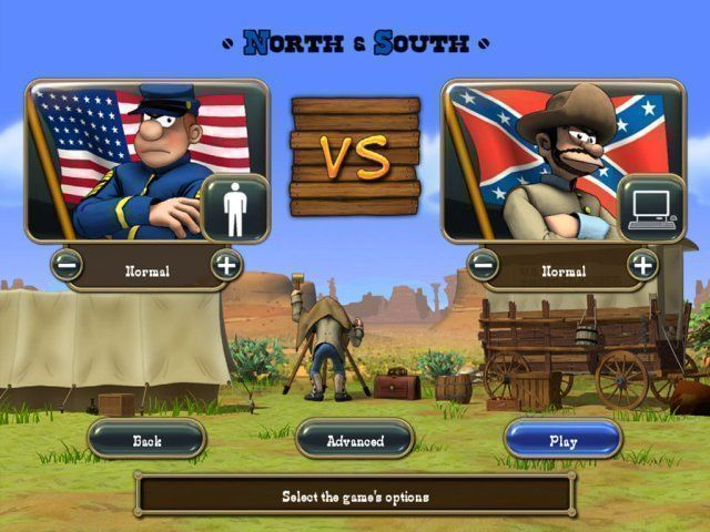 The Bluecoats: North vs South - Screenshot 2