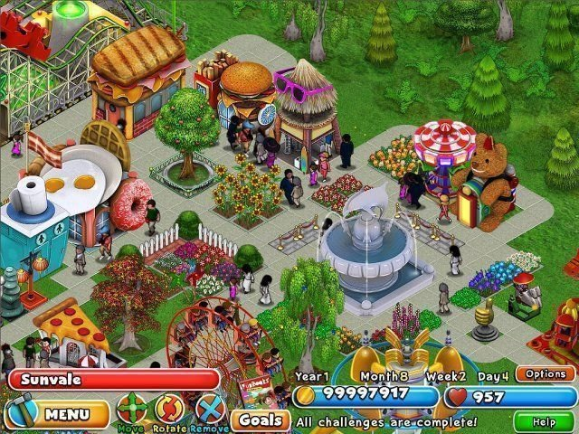 Dream Builder: Amusement Park - Screenshot 2