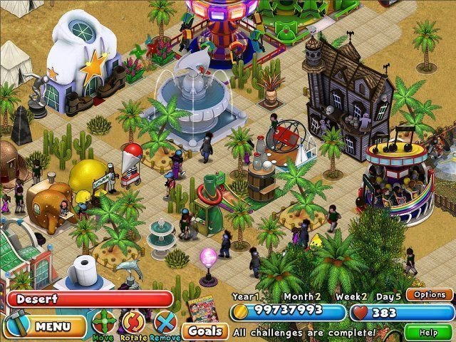 Dream Builder: Amusement Park - Screenshot 3