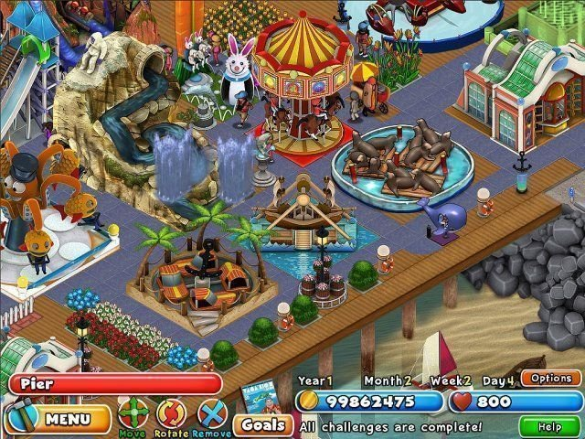 Dream Builder: Amusement Park - Screenshot 4