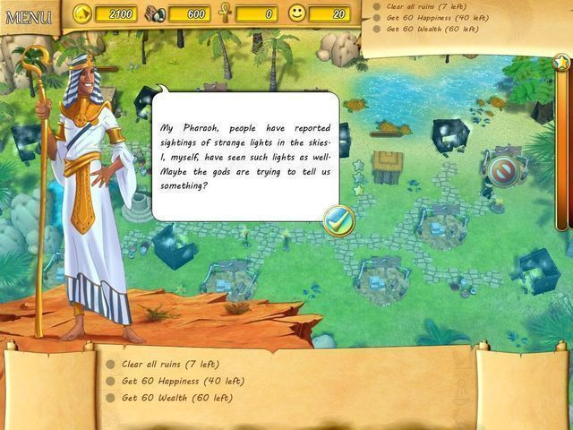 Fate of the Pharaoh - Screenshot 2