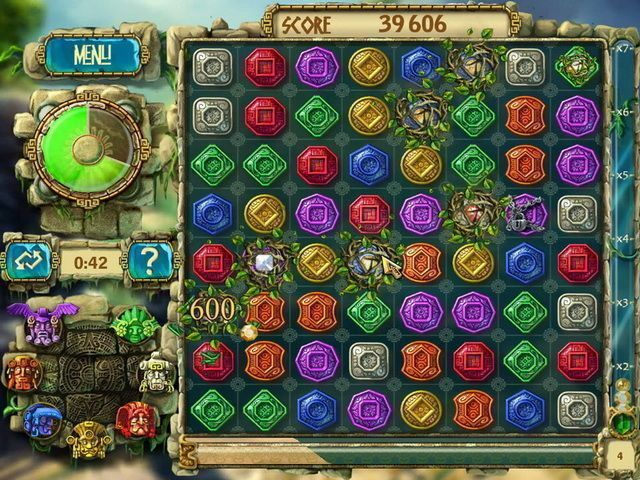 The Treasures Of Montezuma 3 - Screenshot 1