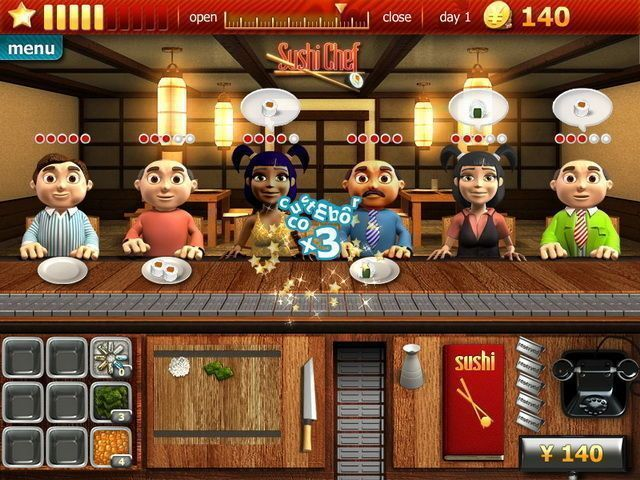 Youda Sushi Chef - Screenshot 1