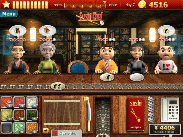 Youda Sushi Chef - Screenshot 6