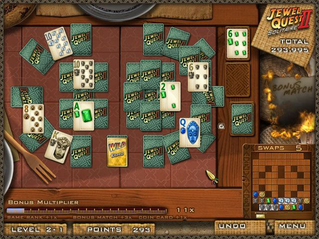 Jewel Quest Solitaire 2 - Screenshot 2
