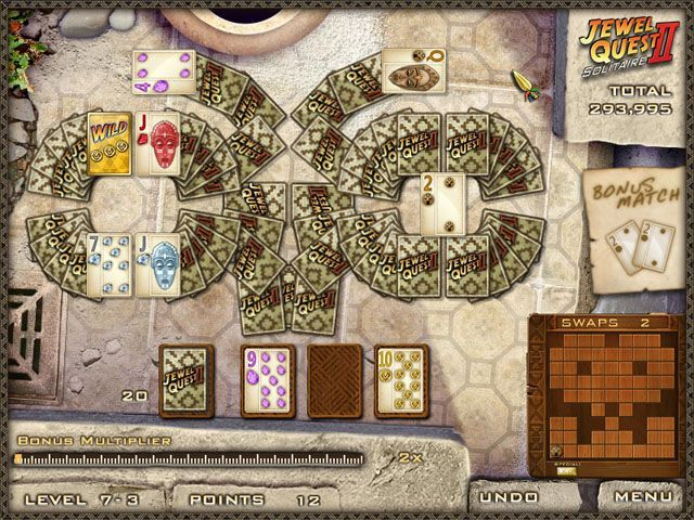 Jewel Quest Solitaire 2 - Screenshot 3