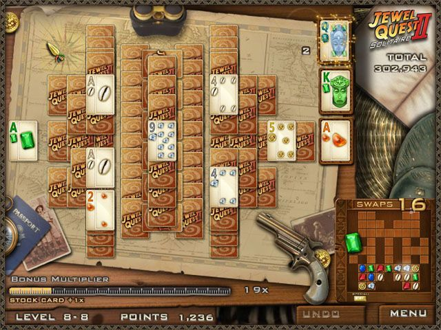 Jewel Quest Solitaire 2 - Screenshot 5