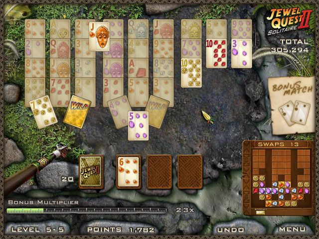 Jewel Quest Solitaire 2 - Screenshot 6