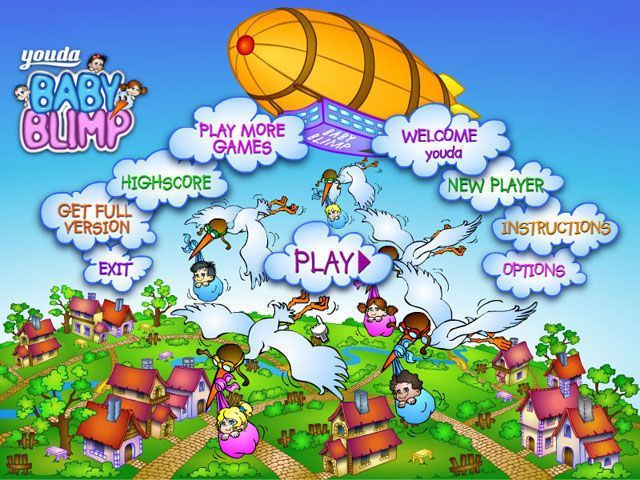 Baby Blimp - Screenshot 1
