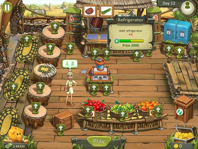 Katy and Bob: Safari Cafe. Collector's Edition - Screenshot 4