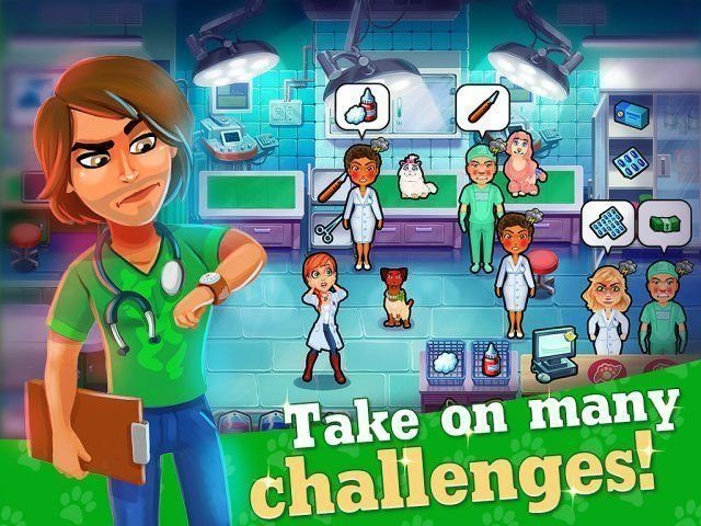 Dr. Cares: Pet Rescue 911. Collector's Edition - Screenshot 2