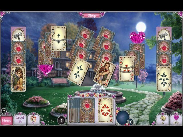 Jewel Match Solitaire: L'Amour - Screenshot 1