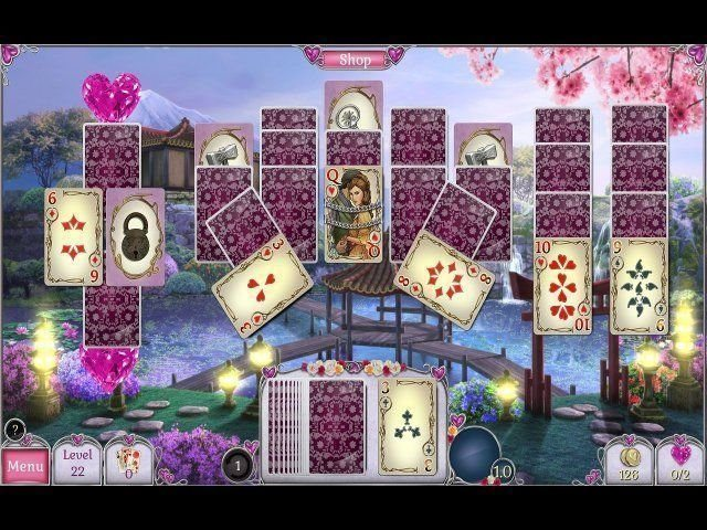 Jewel Match Solitaire: L'Amour - Screenshot 2