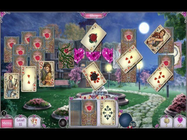 Jewel Match Solitaire: L'Amour - Screenshot 3