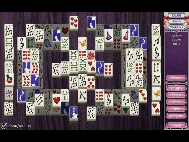 Jewel Match Solitaire: L'Amour - Screenshot 5