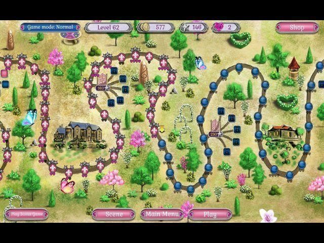 Jewel Match Solitaire: L'Amour - Screenshot 6