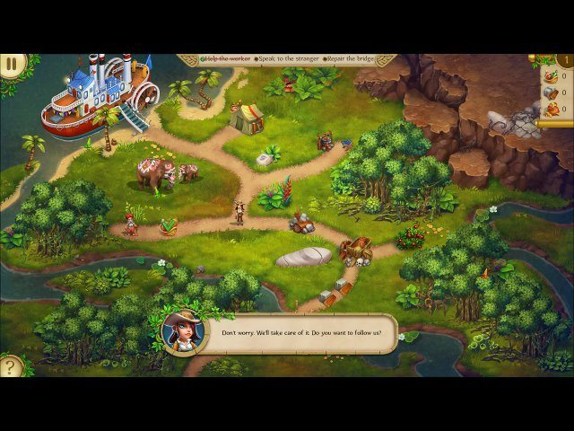 Alicia Quatermain and the Stone of Fate - Screenshot 5