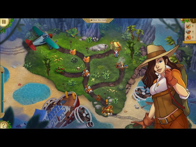 Alicia Quatermain 4: Da Vinci and the Time Machine - Screenshot 1