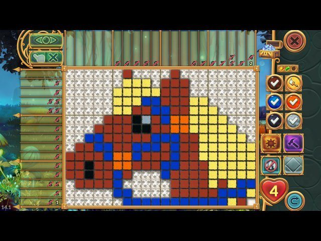 Legendary Mosaics: the Dwarf and the Terrible Cat - Screenshot 5