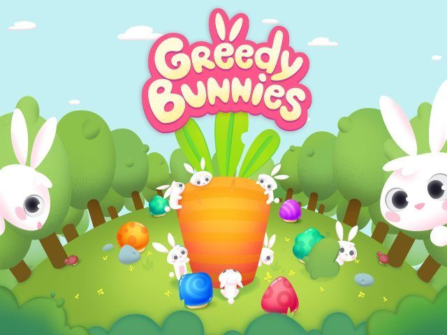 Greedy Bunnies - Screenshot 1