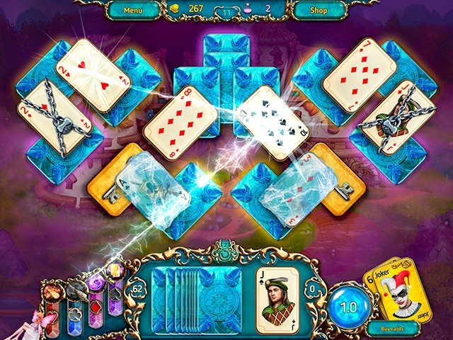 Dreamland Solitaire: Dark Prophecy - Screenshot 2
