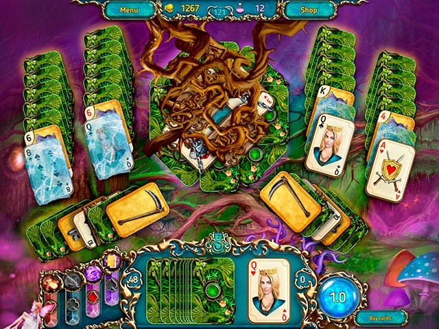 Dreamland Solitaire: Dark Prophecy - Screenshot 3