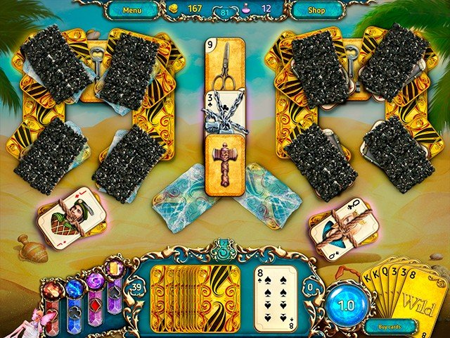 Dreamland Solitaire: Dark Prophecy - Screenshot 4