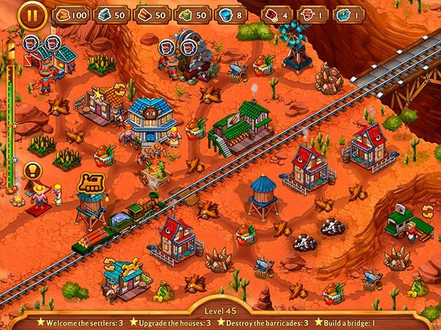 Golden Rails: Small Town Story. Collector's Edition - Screenshot 5