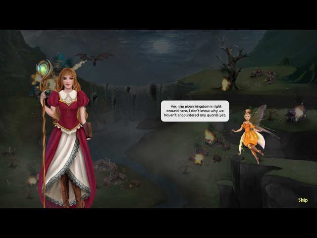 The Enthralling Realms: The Witch and the Elven Princess - Screenshot 2