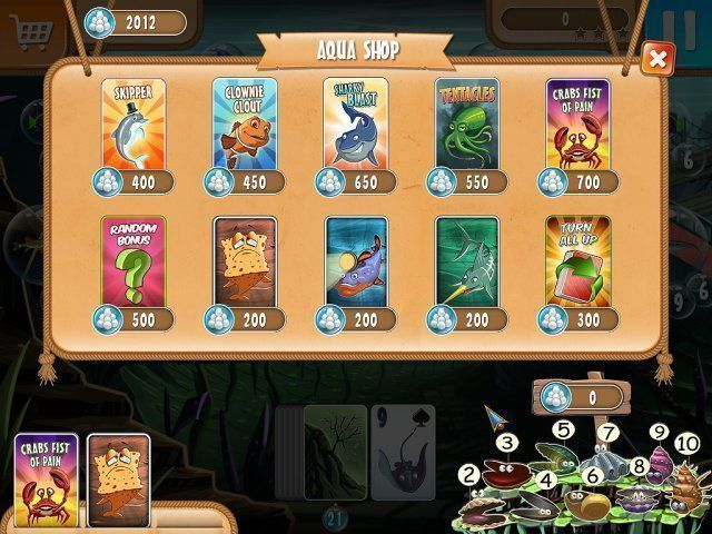 Atlantic Quest: Solitaire - Screenshot 2