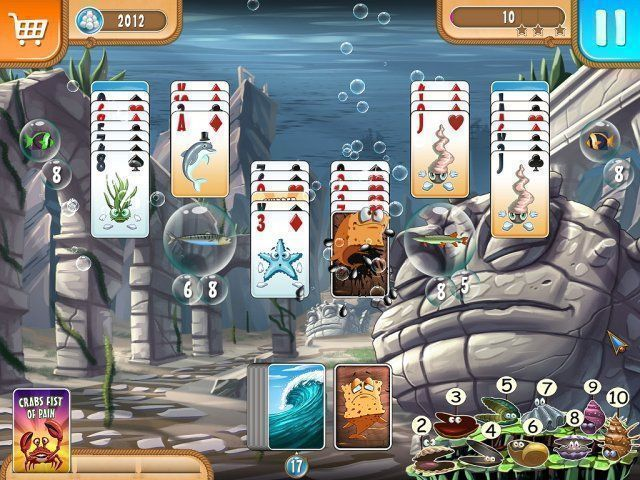 Atlantic Quest: Solitaire - Screenshot 3
