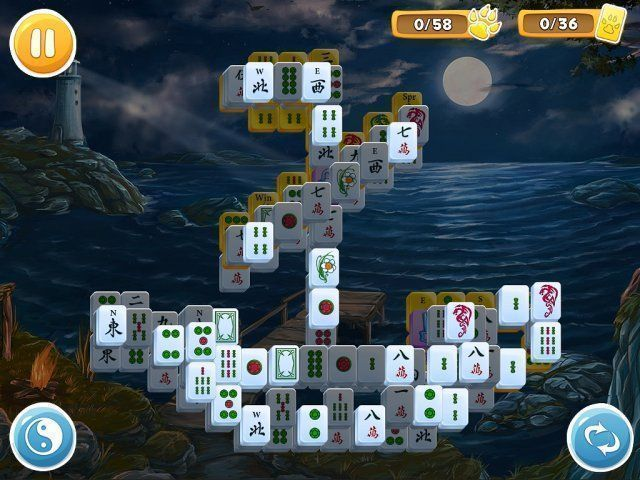 Mahjong: Wolf's Stories - Screenshot 2