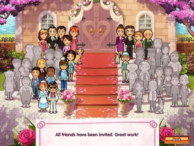 Delicious - Emily's Wonder Wedding - Screenshot 1