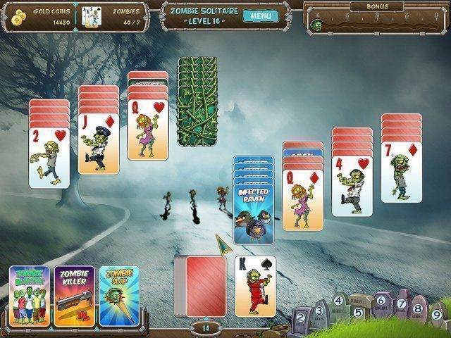 Zombie Solitaire - Screenshot 1