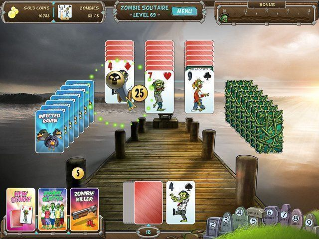 Zombie Solitaire - Screenshot 4
