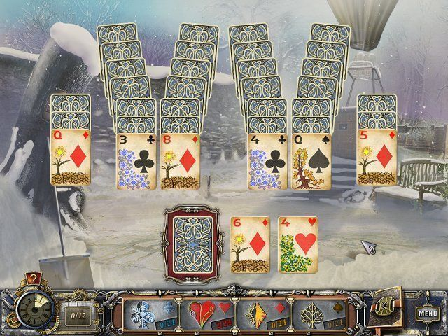 Solitaire Mystery: Four Seasons - Screenshot 1