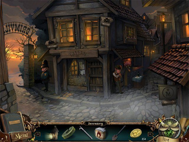 Grimville: The Gift of Darkness - Screenshot 1