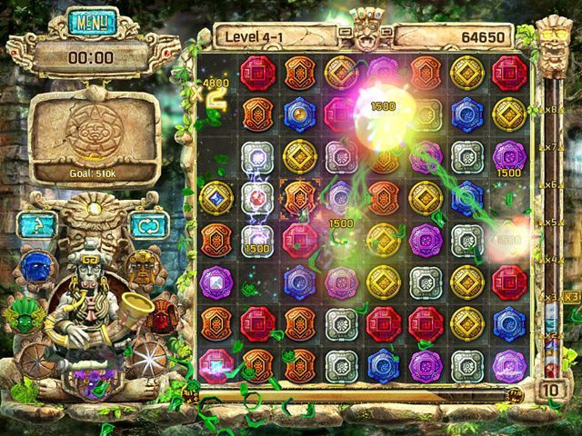 The Treasures of Montezuma 4 - Screenshot 1