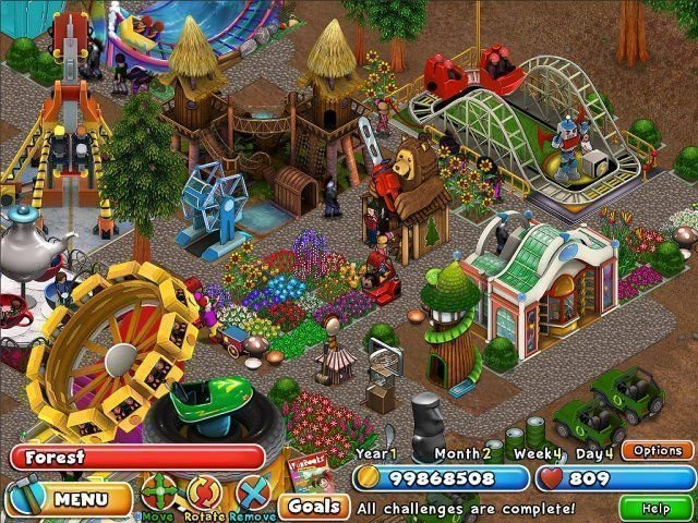 Dream Builder: Amusement Park - Screenshot 5
