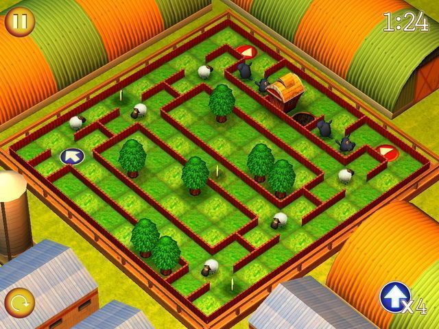 Running Sheep: Tiny Worlds - Screenshot 1