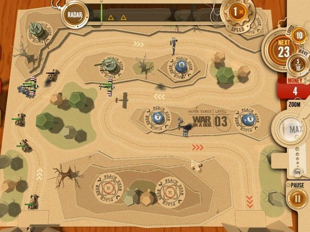 War In A Box: Paper Tanks - Screenshot 2