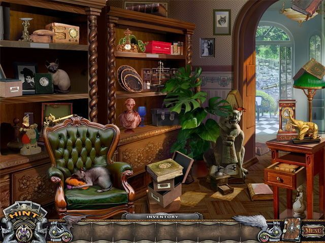 Solitaire Mystery: Stolen Power - Screenshot 2
