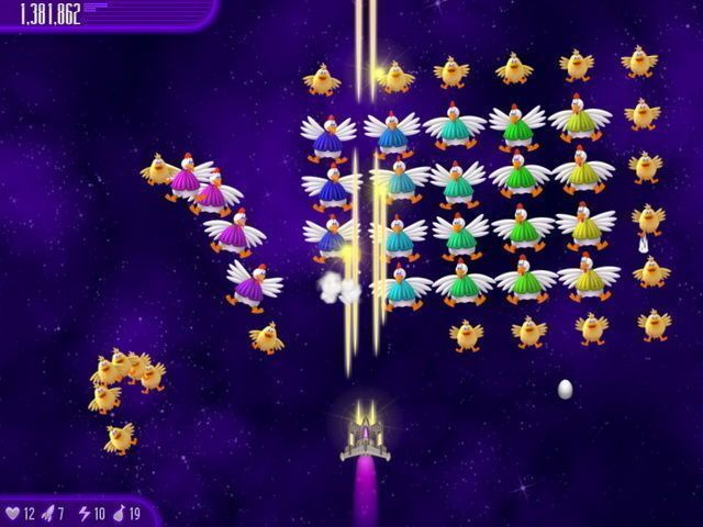 Chicken Invaders 4: Ultimate Omelette - Screenshot 2