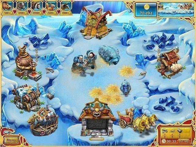 Farm Frenzy: Viking Heroes - Screenshot 3