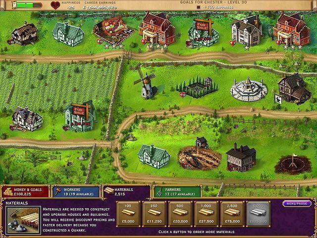 Build-a-lot: The Elizabethan Era - Screenshot 1