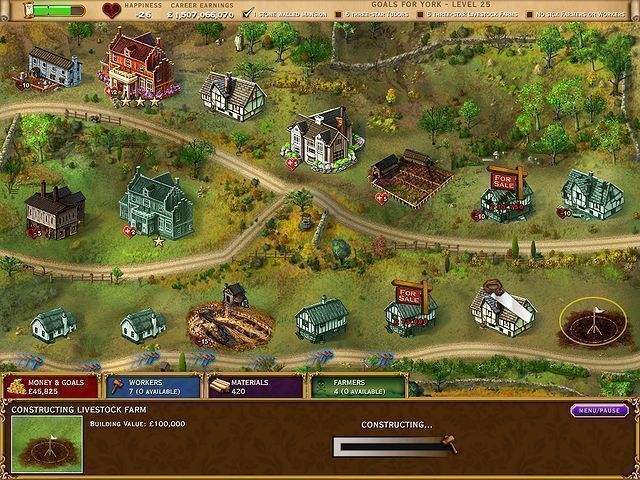 Build-a-lot: The Elizabethan Era - Screenshot 3