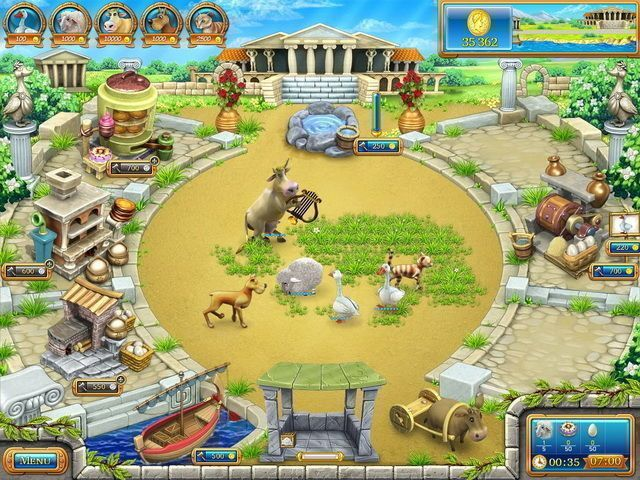Farm Frenzy: Ancient Rome - Screenshot 1