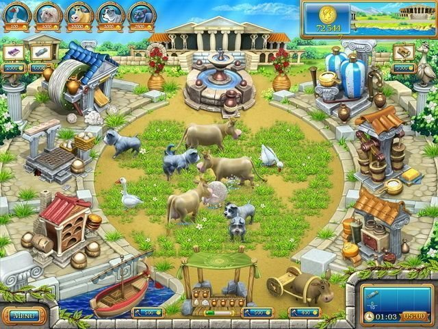 Farm Frenzy: Ancient Rome - Screenshot 2