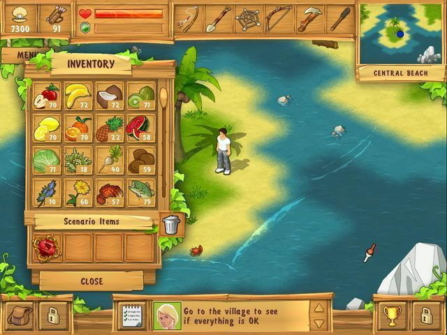 The Island: Castaway - Screenshot 1