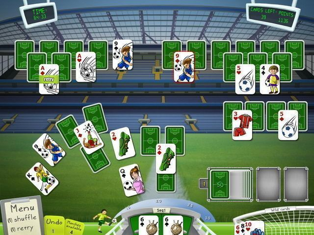 Soccer Cup Solitaire - Screenshot 1